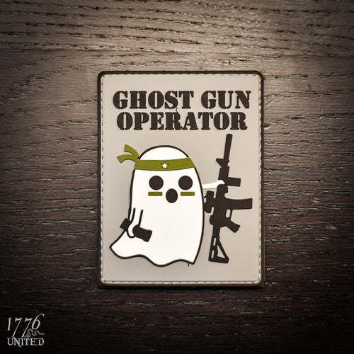Ghost Gun Operator PVC Patch