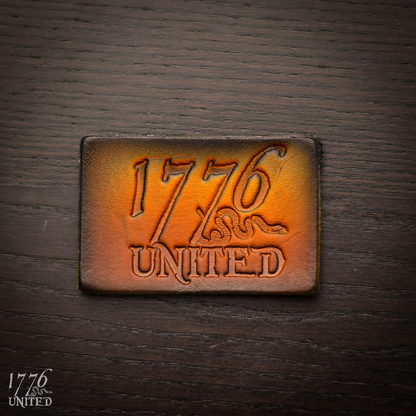1776 United® Logo Leather Patch - Patch - 1776 United