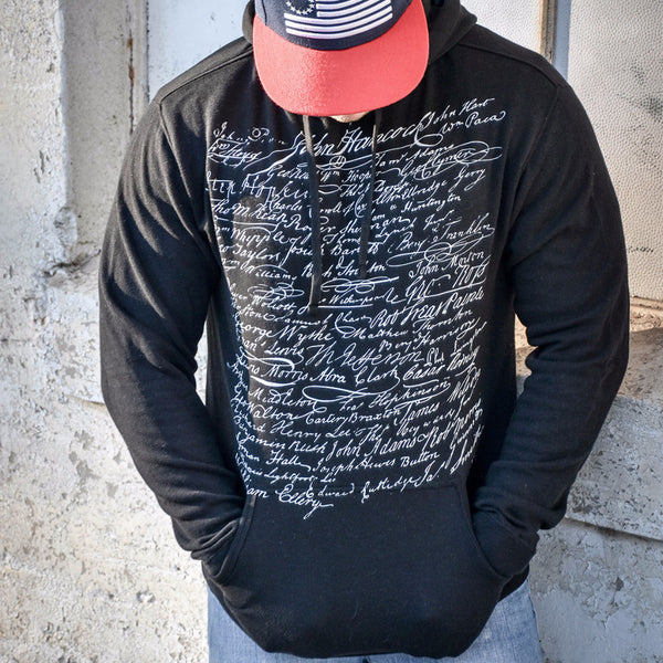 The Signers Lightweight Hoodie - Pull Over Hoodie - 1776 United