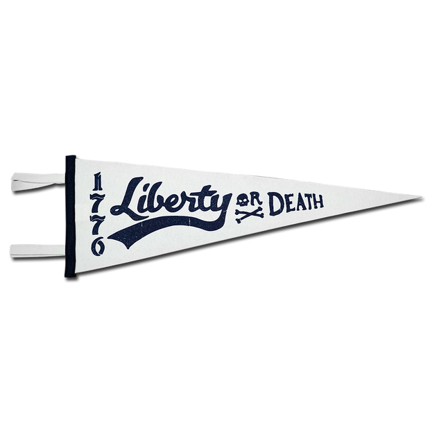 Liberty or Death Pennant