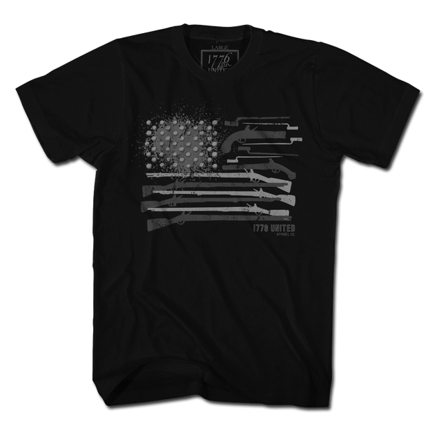 Musket Flag - Blacked Out (LIMITED)