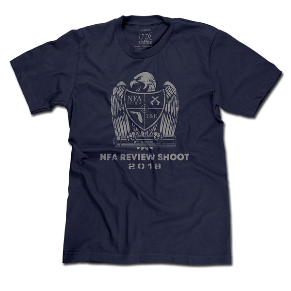 3rd Annual NFA Review Shoot Event Tee