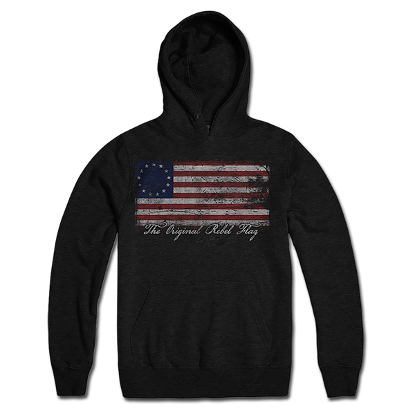 Original Rebel Flag Lightweight Hoodie