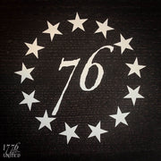 13 Stars Decal - Decal - 1776 United