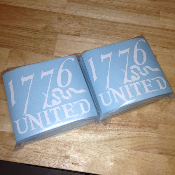 1776 United® Logo Decal LARGE