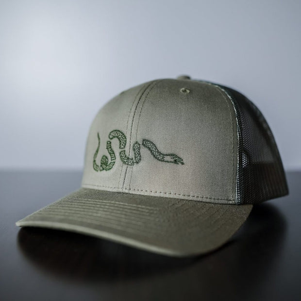 Join or Die Snake Hat Camo