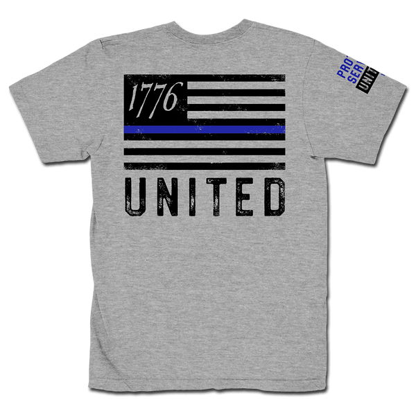 Thin Blue Line - Grey