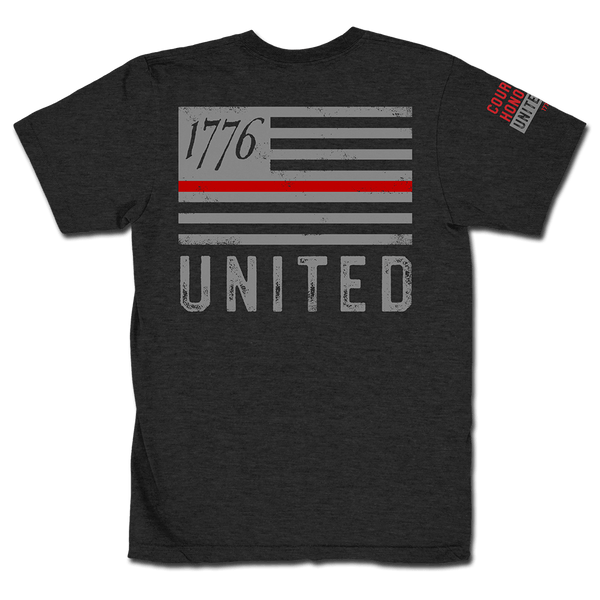 Thin Red Line - Charcoal