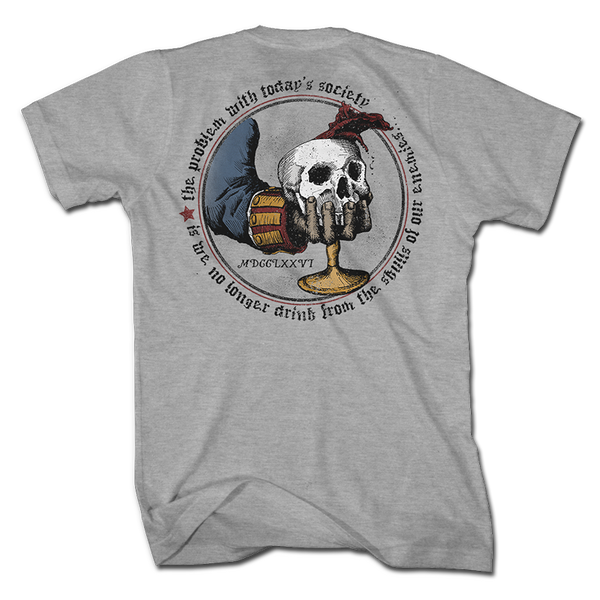 The Skull Chalice - Shirt - 1776 United