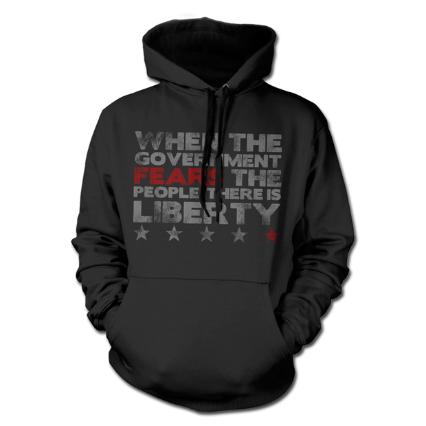 Fear the People Hoodie - Pull Over Hoodie - 1776 United
