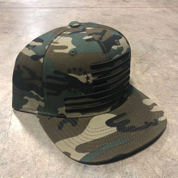 The Original Thirteen Snapback Camo Edition
