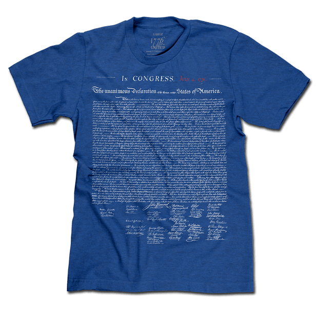 June 2019 Tee Party The Declaration