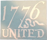 1776 United® Logo Decal LARGE - Decal - 1776 United
