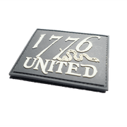1776 United®PVC Logo Patch - Glow In The Dark