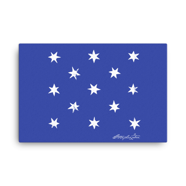 Washington HQ Flag Canvas