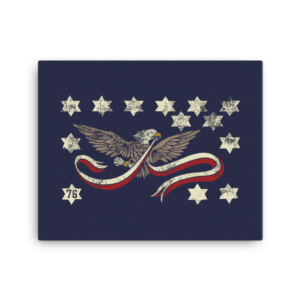 Whiskey Rebellion Canvas