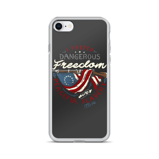 Dangerous Freedom iPhone Case
