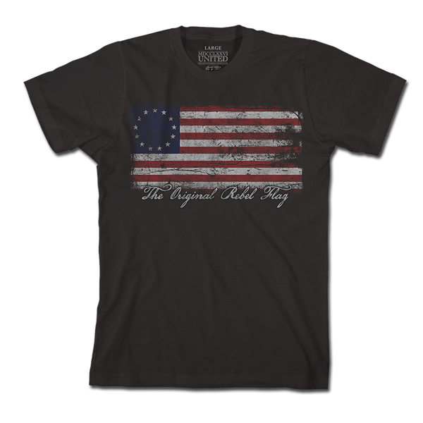 Original Rebel Flag - Shirt - 1776 United