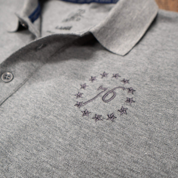 1776 United® Signature Polo - Heather Grey - COMING SOON