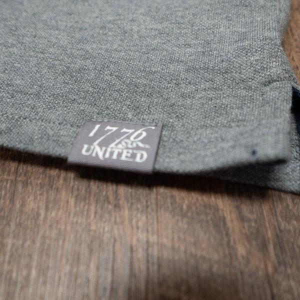 1776 United® Signature Polo - Heather Grey