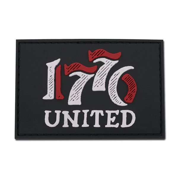 1776 United® Retro Logo PVC Patch