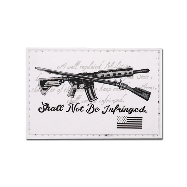 Shall Not Be Infringed PVC Patch