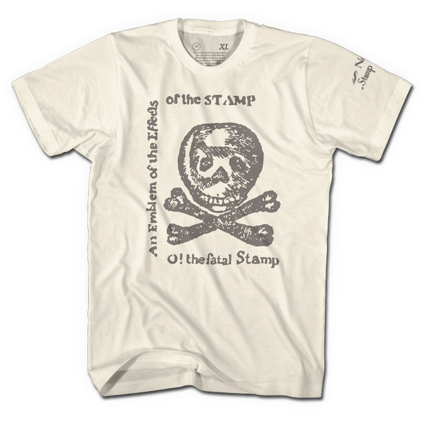 Stamp Act - Crème - Shirt - 1776 United