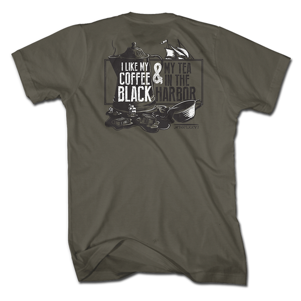 Tea In The Harbor - OD Green - Shirt - 1776 United