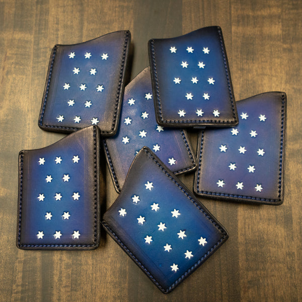 Washington HQ Leather Card Holder