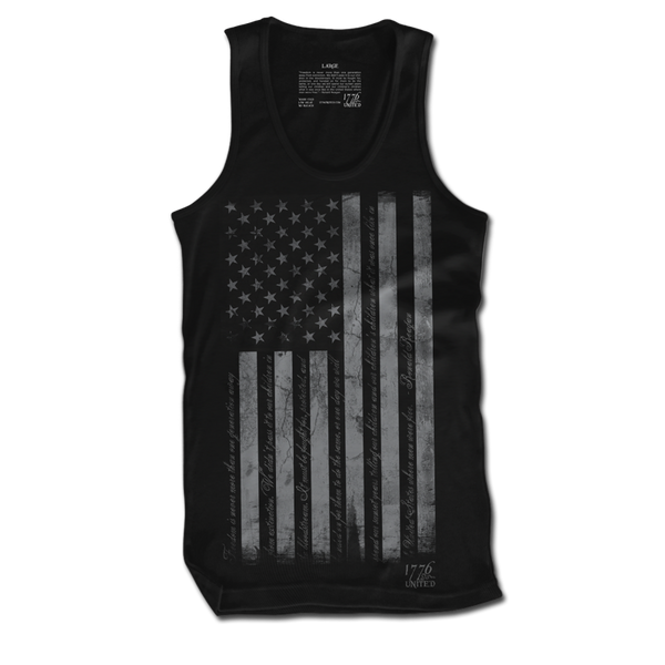 When Men Were Free Tank - Tank Tops - 1776 United