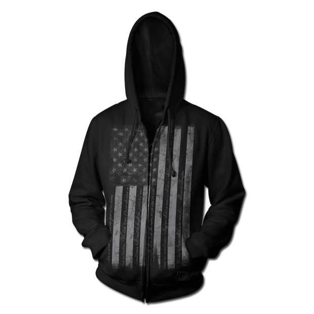 When Men Were Free Zip-Up - Zip-Up Hoodie - 1776 United