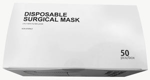 50 x Disposable Surgical Mask - Type IIR (Non-Sterile)