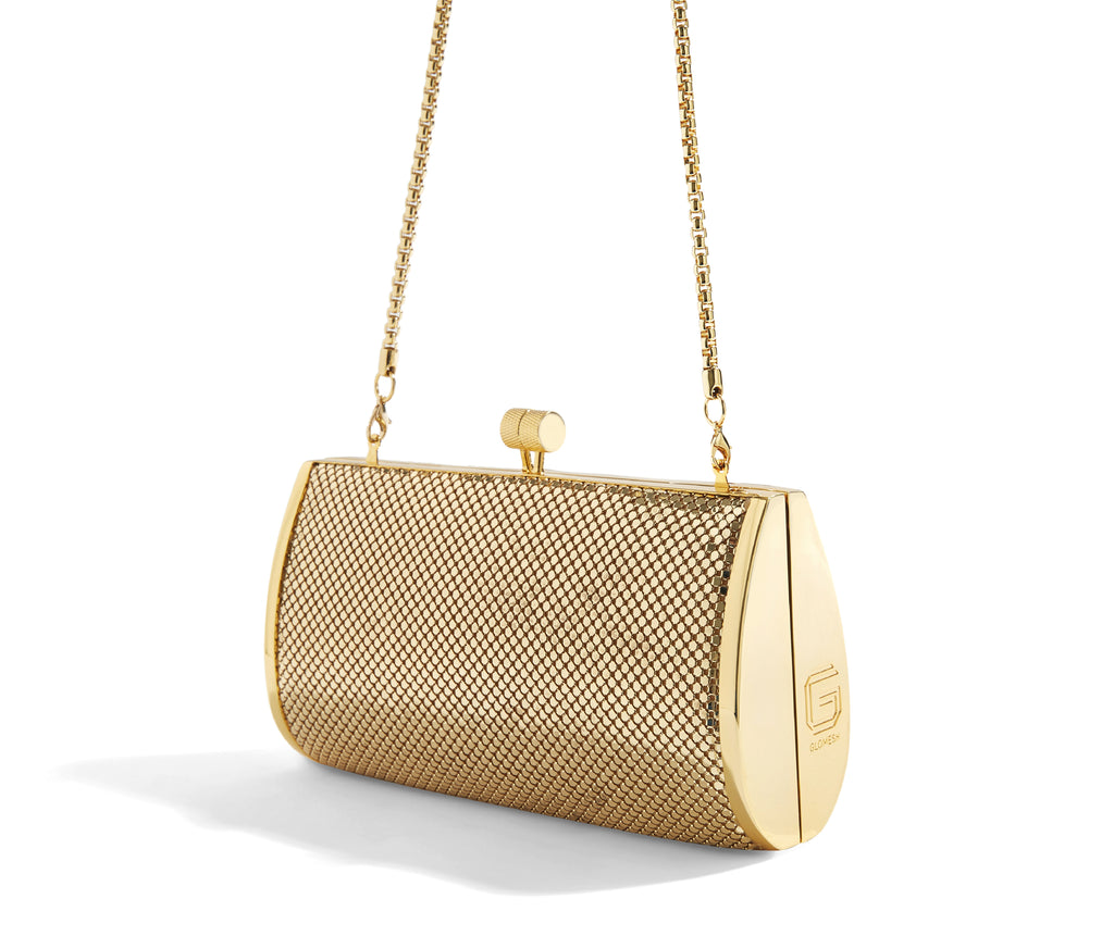 SINGLE BARREL CLUTCH - 18ct Gold Plate