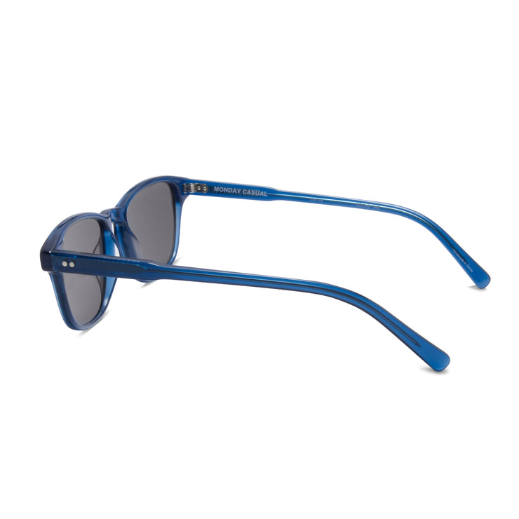 Archer sunglass prescription eyewear frame from Monday Casual in Ocean/Blue acetate. Archer includes premium quality optical lenses.