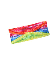 Tie Dye Print Yoga Running Elastic Headwraps Hair Band