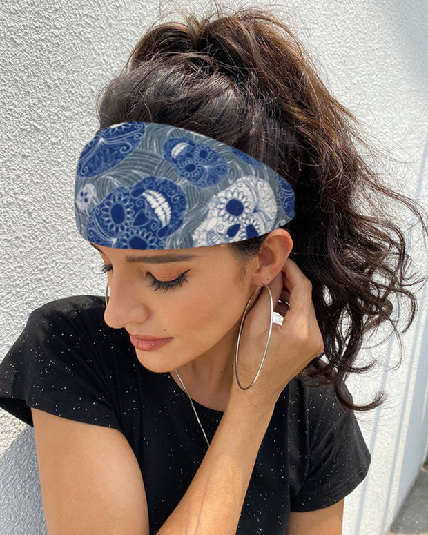 Print Yoga Running Elastic Headwraps Hair Band