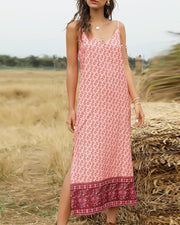 Bohemian Shift Cami Dress