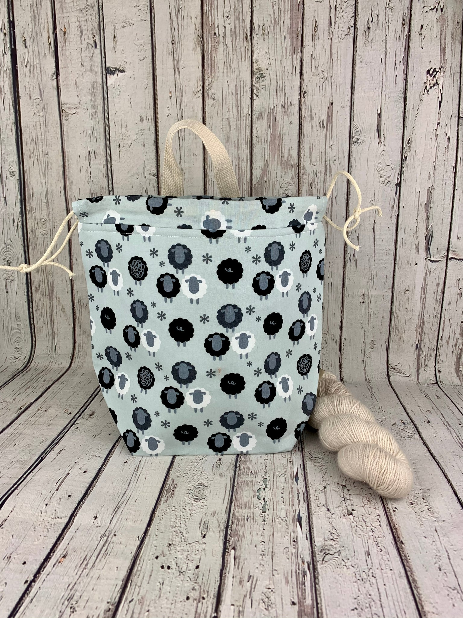 Sheep Bucket Bag