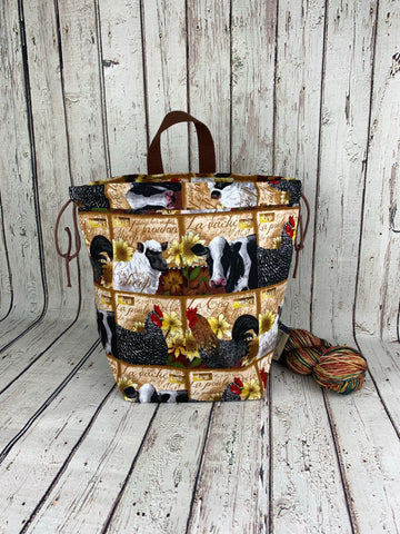 Farm Life Bucket Bag