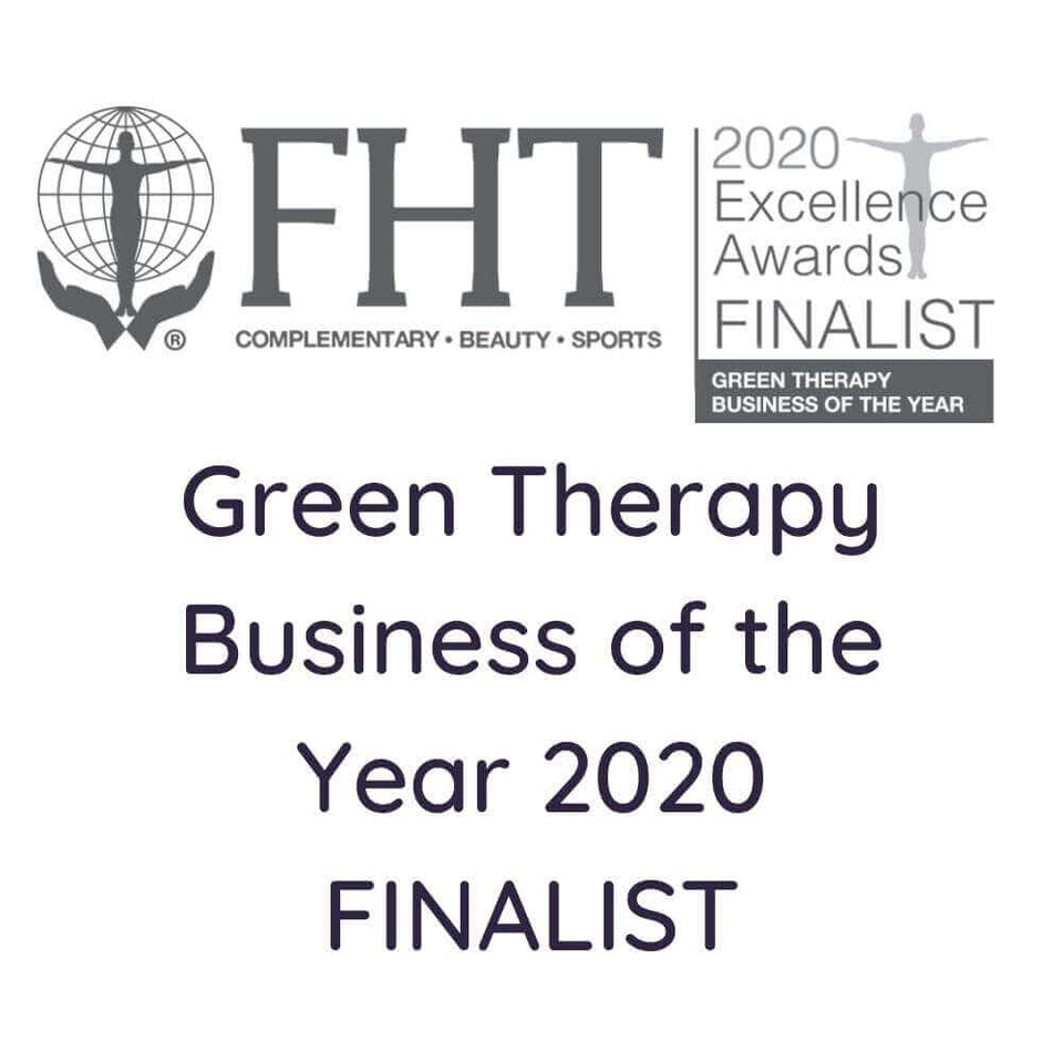 Green Therapy Business of the Year Finalist, FHT.