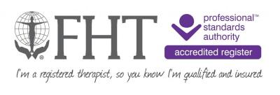 Member of the Federation of Holistic Therapists. Registered with the Professional Standards Authority.