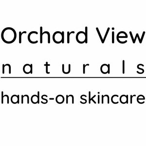 Orchard View naturals, hands-on skincare - logo