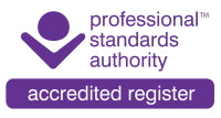 Professional Standards Authority Accredited Register.