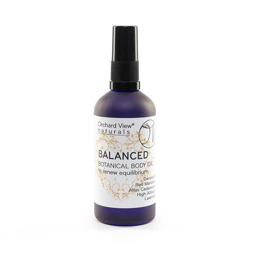 Balanced Botanical Body Oil, to renew equilibrium