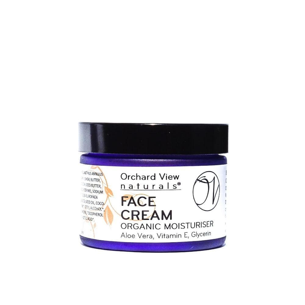 Face Cream - Organic Moisturiser - 50ml Face Cream Orchard View naturals