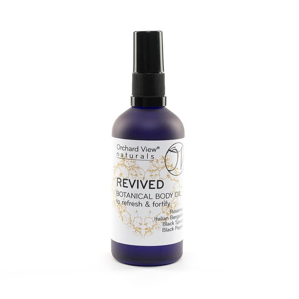 Revived Botanical Body Oil, to refresh & fortify.