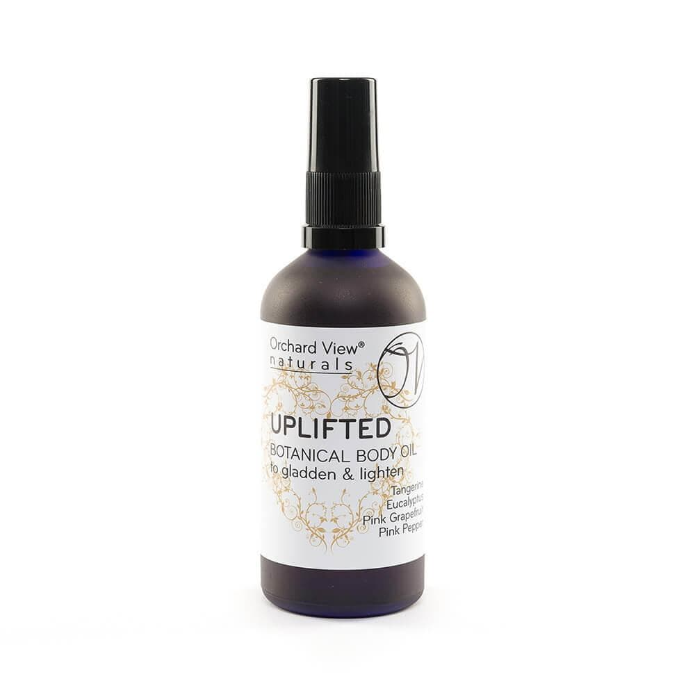 Uplifted Botanical Body Oil, to gladden & lighten.