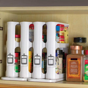 Cupboard Organizer Kitchen Storage Rack