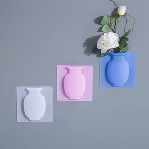 Silicone Vase Rubber Flower