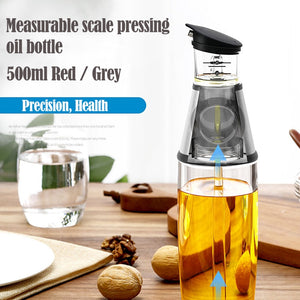 Smart Press Measurement Oil Bottle